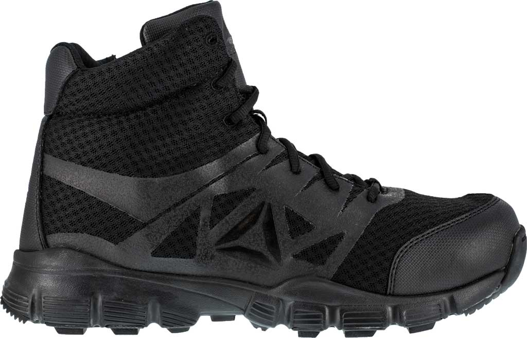 Men's Reebok Work Dauntless Ultra-Light RB4507 Mid Boot, Black, large, image 2