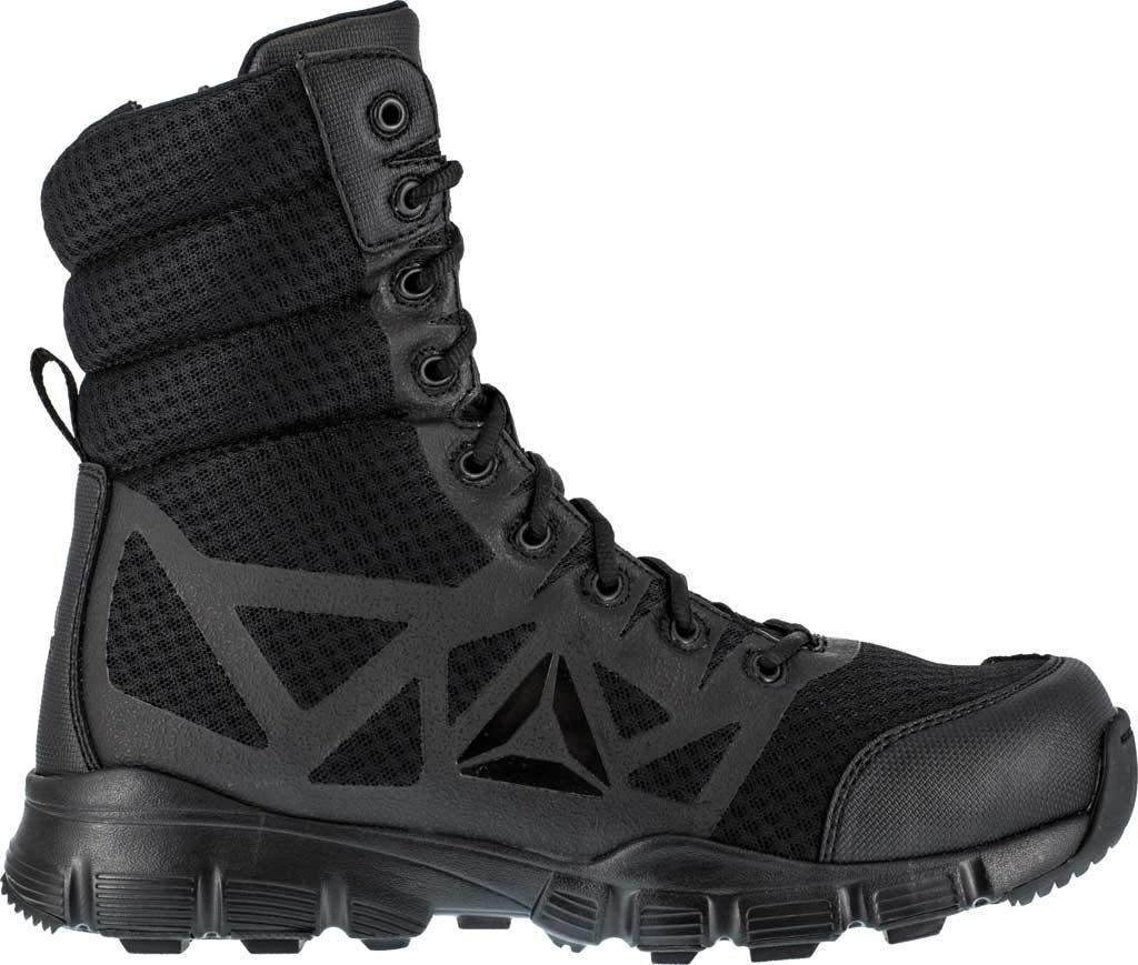 "Men's Reebok Work Dauntless Ultra-Light RB8720 8"" Tactical Boot, Black, large, image 2"