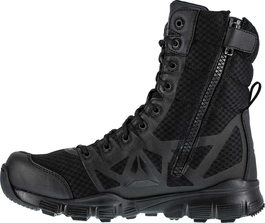 "Men's Reebok Work Dauntless Ultra-Light RB8720 8"" Tactical Boot, Black, large, image 3"