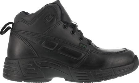 Men's Reebok Work Postal TCT CP8375 Work Shoe, Black, large, image 2