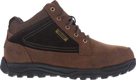 Men's Rockport Works Trail Technique Moc Toe Hiker RK6671, Brown Leather/Suede, large, image 2