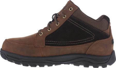 Men's Rockport Works Trail Technique Moc Toe Hiker RK6671, Brown Leather/Suede, large, image 3