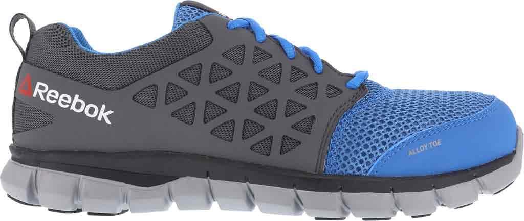 Women's Reebok Work Sublite Cushion RB044 Work Shoe, Blue/Grey Synthetic, large, image 2