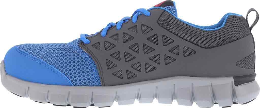 Women's Reebok Work Sublite Cushion RB044 Work Shoe, Blue/Grey Synthetic, large, image 3