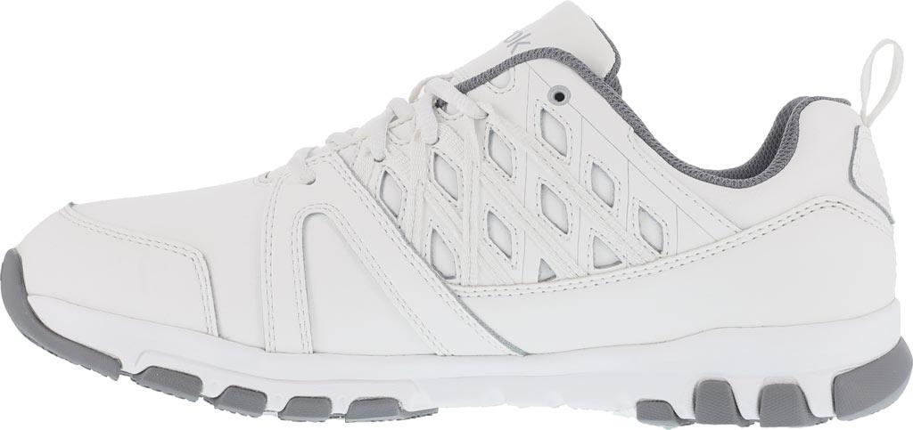 Men's Reebok Work Sublite RB4442 Work Shoe, White Leather, large, image 3