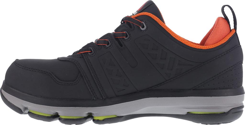 Men's Reebok Work DMX Flex RB3602 Work Shoe, Black/Orange Leather, large, image 3