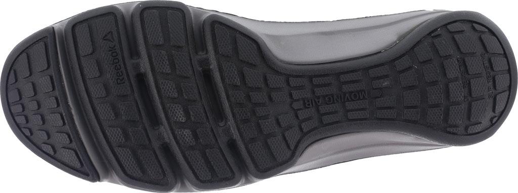 Men's Reebok Work DMX Flex RB3602 Work Shoe, Black/Orange Leather, large, image 4