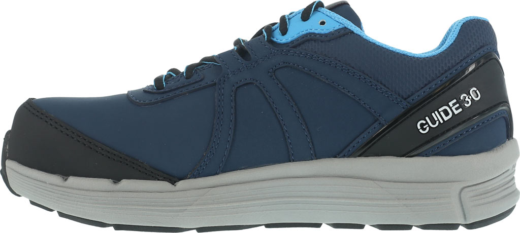 Women's Reebok Work One Guide RB354 Work Shoe, Navy/Light Blue Leather, large, image 3