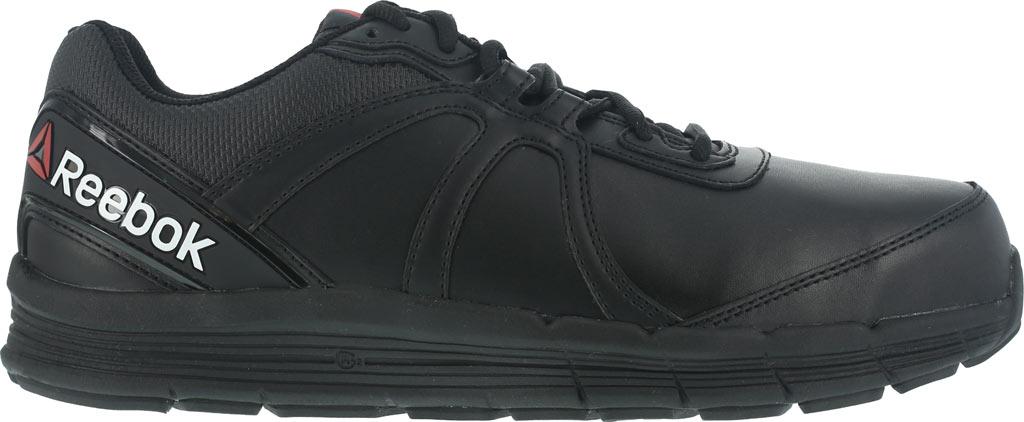 Women's Reebok Work Guide RB351 Work Shoe, Black Leather, large, image 2