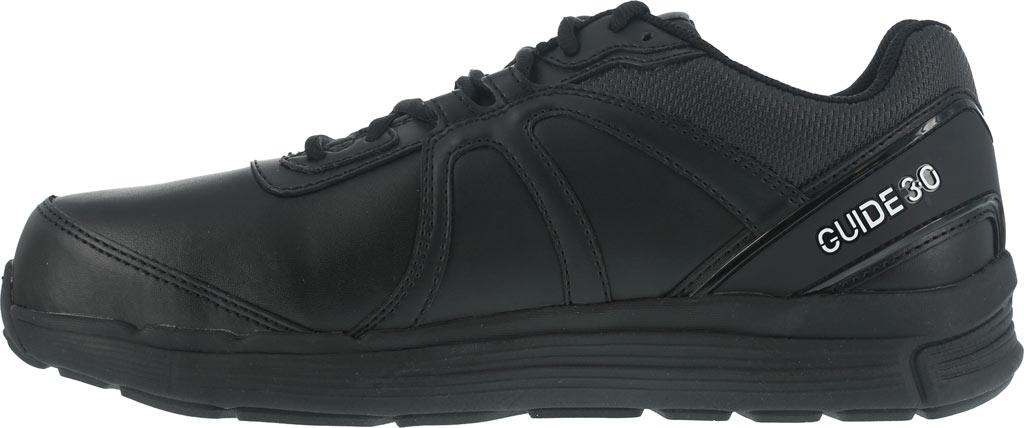 Women's Reebok Work Guide RB351 Work Shoe, Black Leather, large, image 3