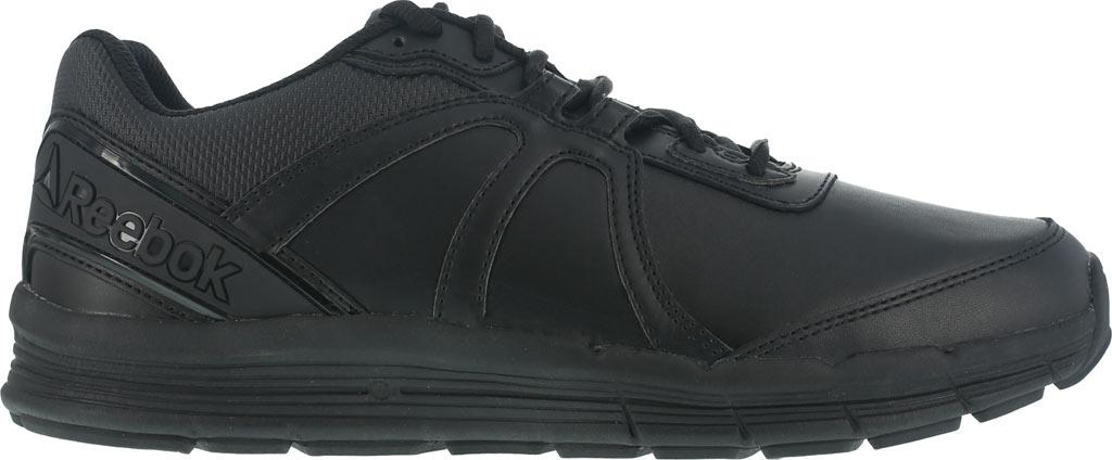 Men's Reebok Work One Guide RB3500 Work Shoe, Black Leather, large, image 2