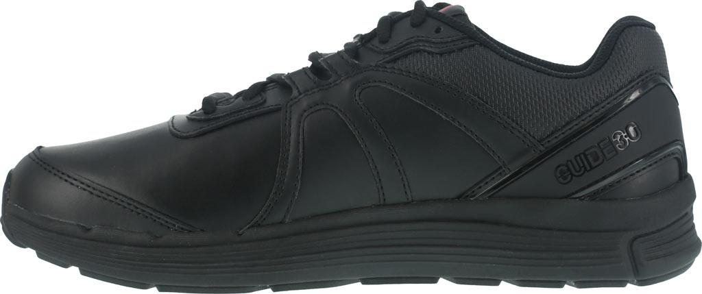 Men's Reebok Work One Guide RB3500 Work Shoe, Black Leather, large, image 3