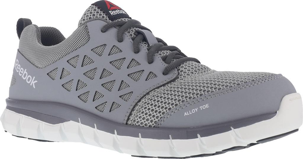 Men's Reebok Work Sublite Cushion RB4042 Work Sneaker, Grey Mesh/Synthetic, large, image 1