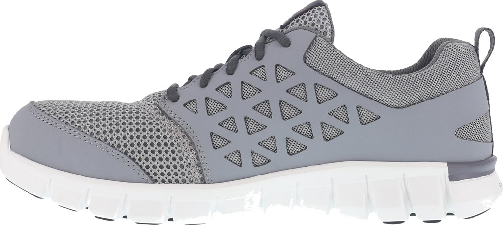 Men's Reebok Work Sublite Cushion RB4042 Work Sneaker, Grey Mesh/Synthetic, large, image 3