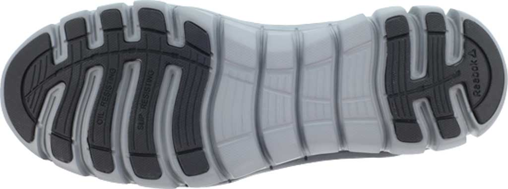 Men's Reebok Work RB4142 Sublite Cushion Work Alloy Toe Work Shoe, Black Leather, large, image 4