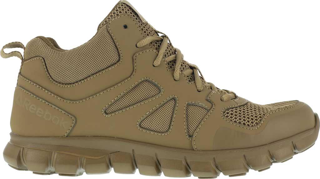 Men's Reebok Work RB8406 Sublite Cushion Tactical Mid ST Work Shoe, Coyote Leather/Ballistic Nylon, large, image 2