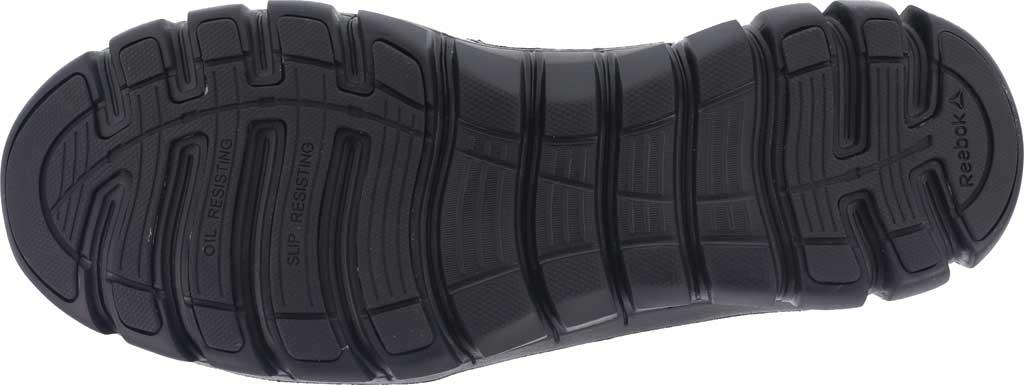 "Men's Reebok Work RB8605 Sublite Cushion Tactical 6"" Soft Toe Boot, Black Leather/Ballistic Nylon, large, image 4"