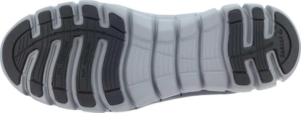 Men's Reebok Work RB4143 Sublite Cushion Work Alloy Toe Work Shoe, Black Leather, large, image 4