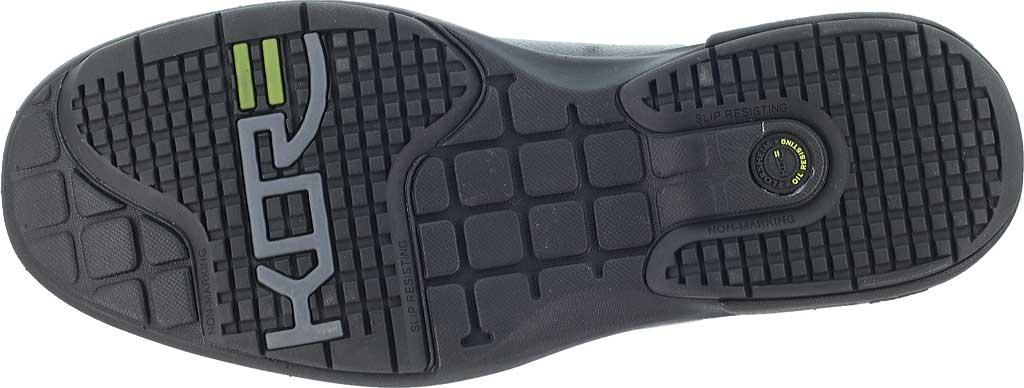 Men's Florsheim Work FE2020 Loedin Steel Toe Slip-On EH Work Shoe, Black Leather, large, image 4