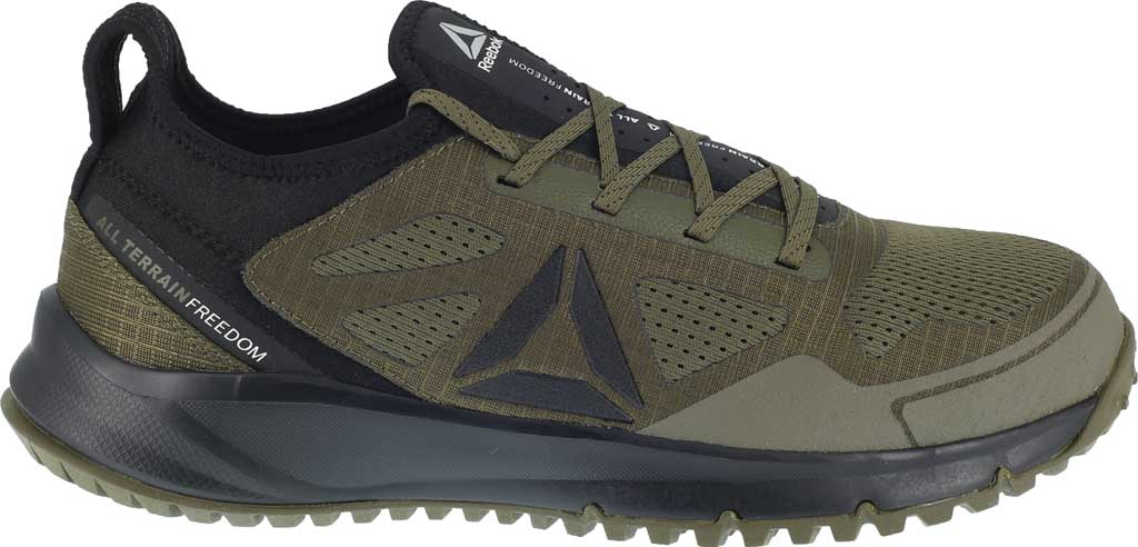 Men's Reebok Work All Terrain Work RB4092 Athletic Oxford, Sage Green Mesh/Textile Fabric, large, image 2