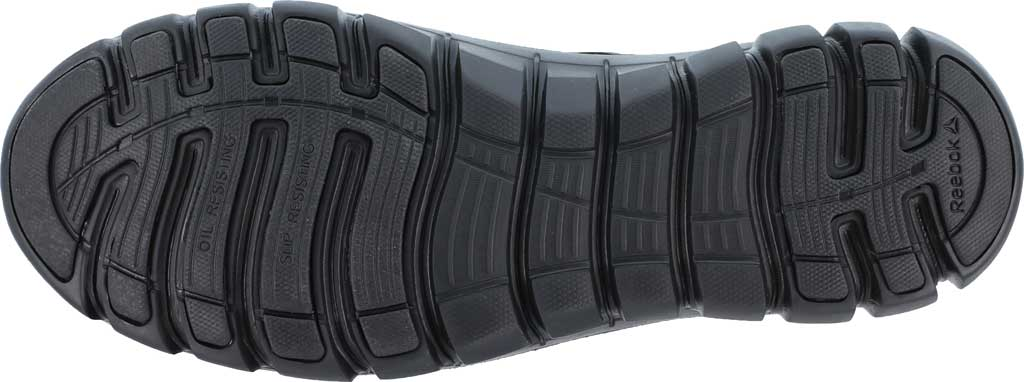 Men's Reebok Work Sublite Cushion Work RB4039 Athletic Oxford, Black Microfiber/Mesh, large, image 4