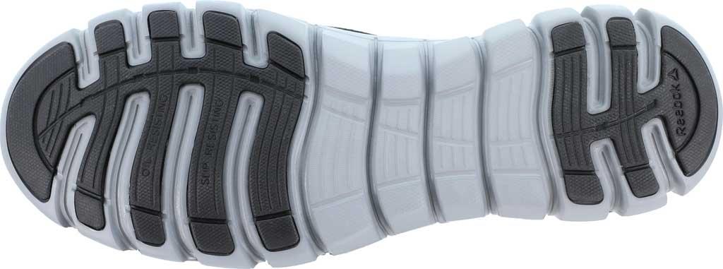 Men's Reebok Work Sublite Cushion Work RB4037 Alloy Toe Slip On, Black Microfiber/Mesh, large, image 4