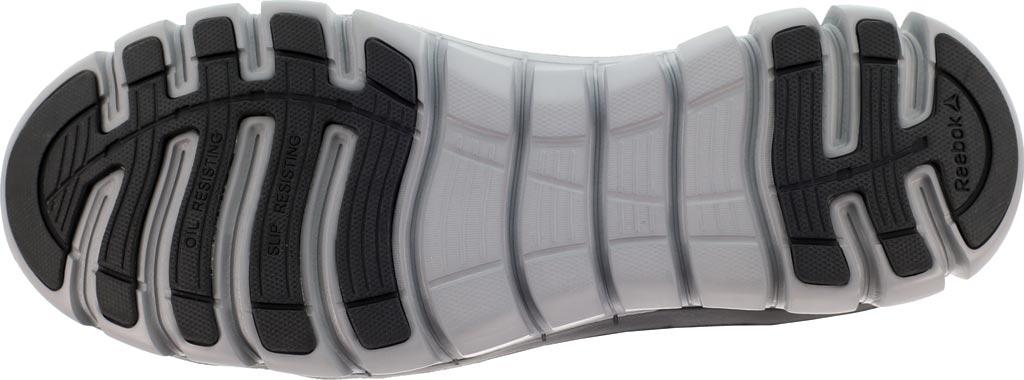 Women's Reebok Work Sublite Cushion RB143 Alloy Toe Mid Cut Work Shoe, Black Leather, large, image 4