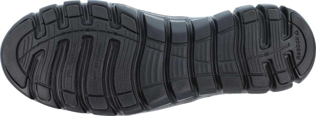 Women's Reebok Work Sublite Cushion RB036 Composite Toe Oxford, Black Leather, large, image 3