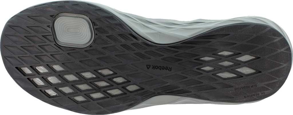 Men's Reebok Work Astroride Work RB2211 Steel Toe Work Shoe, Black/Dark Grey Stretch Mesh, large, image 4