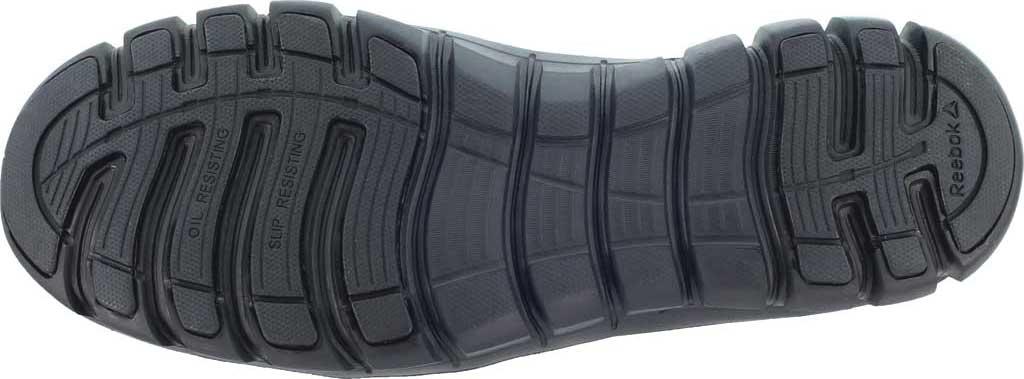 Men's Reebok Work Sublite Cushion Work RB4046 Work Shoe, Black Leather, large, image 4