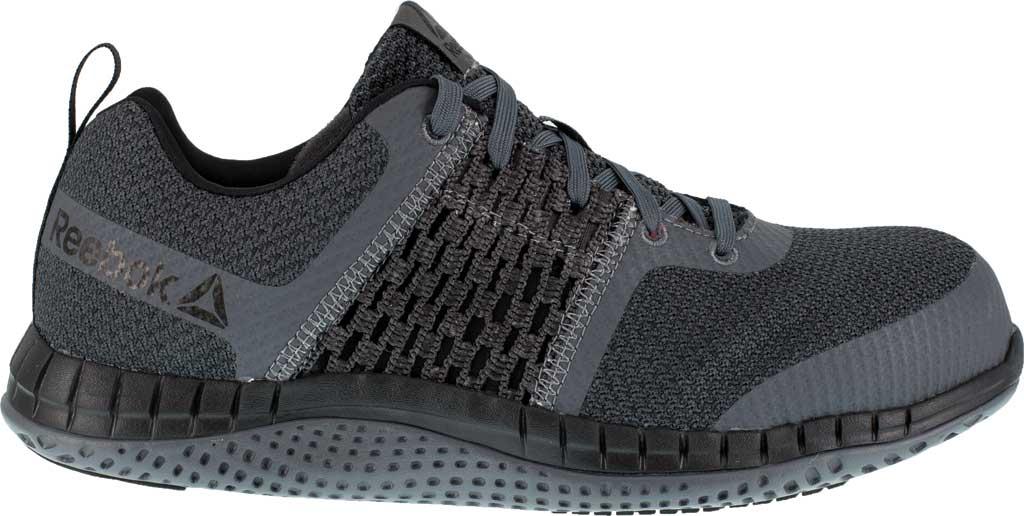 Men's Reebok Work Print Work ULTK RB4248 Composite Toe Shoe, Coal Grey/Black Synthetic, large, image 2