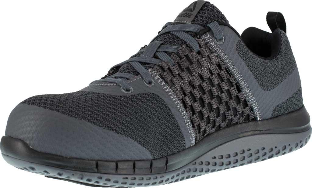 Men's Reebok Work Print Work ULTK RB4248 Composite Toe Shoe, Coal Grey/Black Synthetic, large, image 3