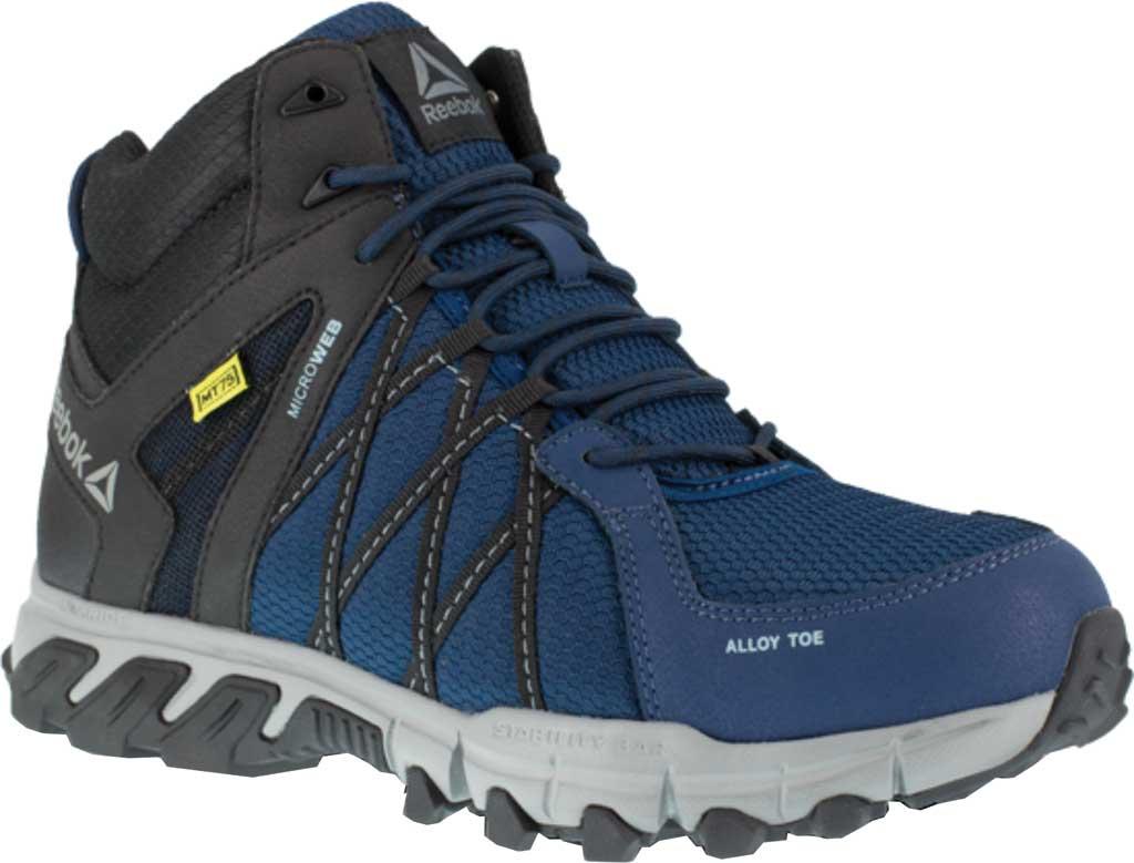 Men's Reebok Work Trailgrip Work RB3401 Alloy/Met Guard Toe Boot, Navy/Black Synthetic, large, image 1