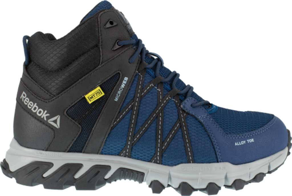 Men's Reebok Work Trailgrip Work RB3401 Alloy/Met Guard Toe Boot, Navy/Black Synthetic, large, image 2