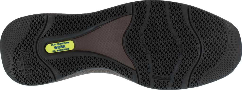 Men's Florsheim Work FS2326 Bayside Steel Toe Boat Shoe, Brown Leather, large, image 4