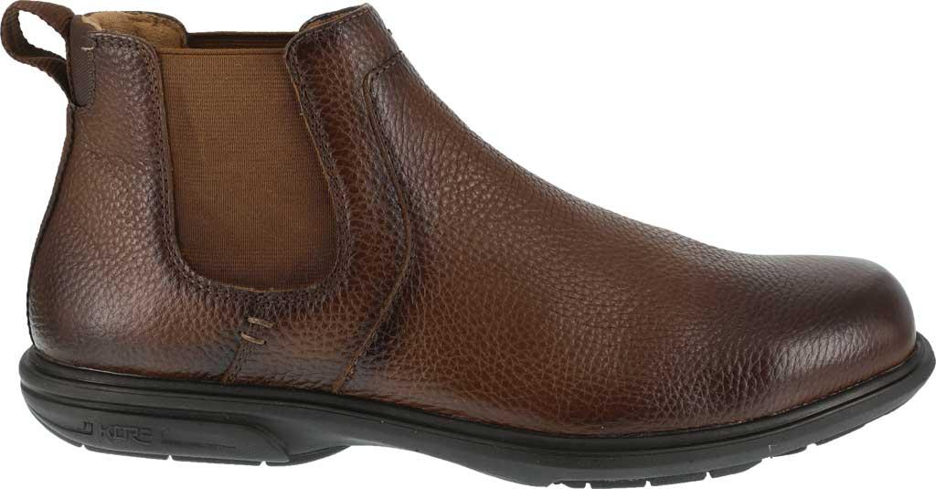 Men's Florsheim Work FS2031 Loedin Steel Toe Chelsea Boot, Brown Leather, large, image 2