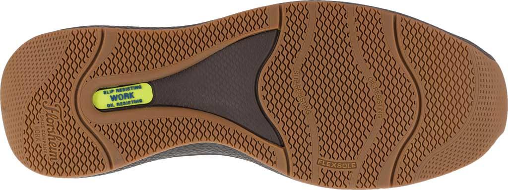 Men's Florsheim Work FS2325 Bayside Steel Toe Slip-On, Cognac Leather, large, image 4