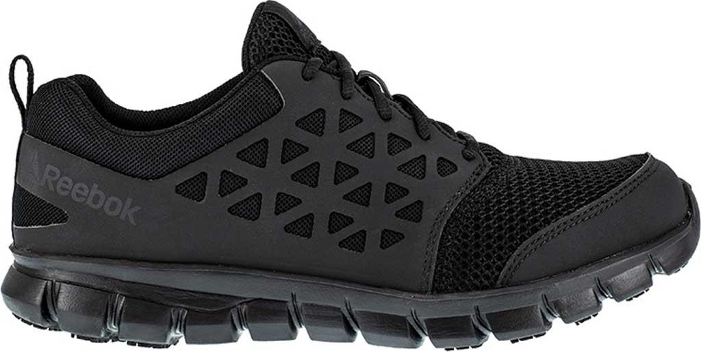 Men's Reebok Work Sublite Cushion Work RB4035 SD Slip-Resistant Shoe, Black, large, image 2