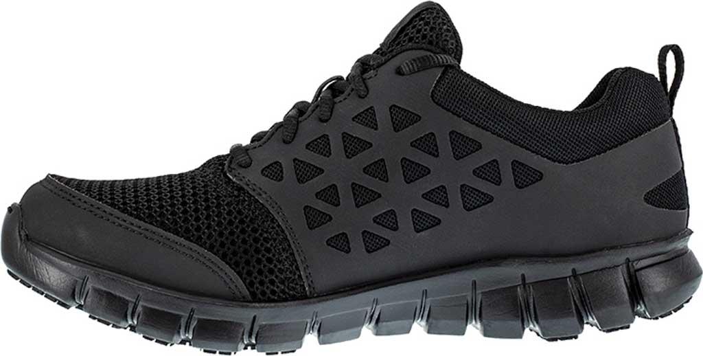 Men's Reebok Work Sublite Cushion Work RB4035 SD Slip-Resistant Shoe, Black, large, image 3