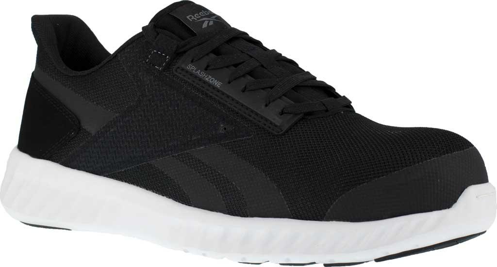 Men's Reebok Work Sublite Legend Work RB4023 Comp Toe Sneaker, Black/White Mesh, large, image 1