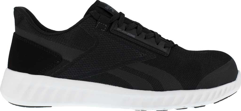 Men's Reebok Work Sublite Legend Work RB4023 Comp Toe Sneaker, Black/White Mesh, large, image 2