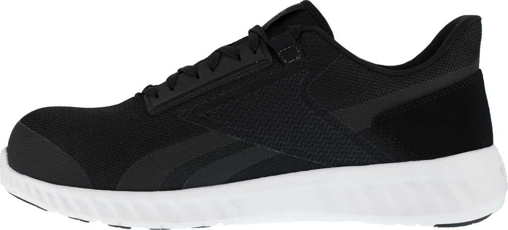 Men's Reebok Work Sublite Legend Work RB4023 Comp Toe Sneaker, Black/White Mesh, large, image 3