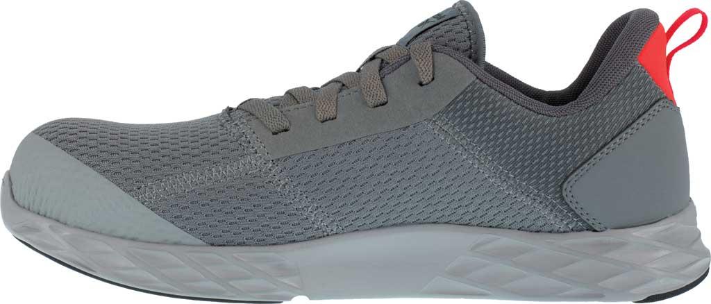 Men's Reebok Work Astroride Strike Work RB4671 Comp Toe Sneaker, Grey Mesh, large, image 3