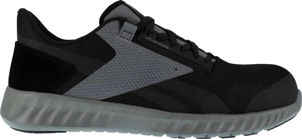 Men's Reebok Work Sublite Legend Work RB4020 Comp Toe Sneaker, Black/Grey Mesh, large, image 2