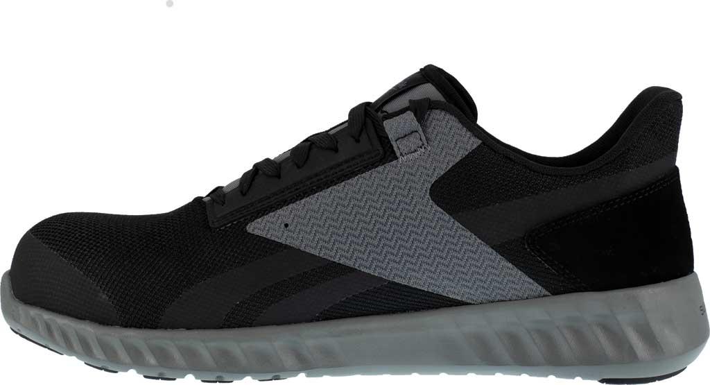 Men's Reebok Work Sublite Legend Work RB4020 Comp Toe Sneaker, Black/Grey Mesh, large, image 3