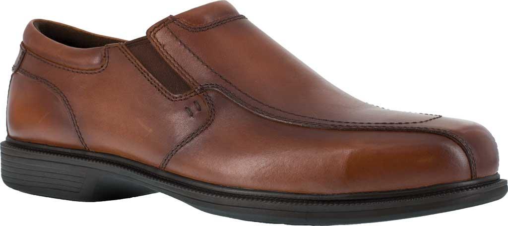 Men's Florsheim Work FS2006 Coronis Slip-On, Brown Leather, large, image 1