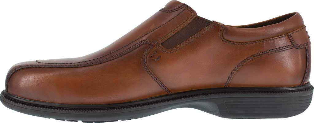 Men's Florsheim Work FS2006 Coronis Slip-On, Brown Leather, large, image 3