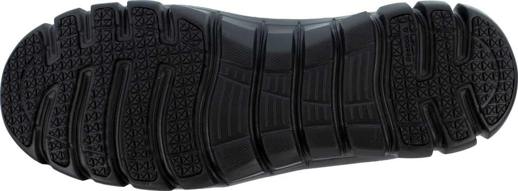 Men's Reebok Work RB4051 Sublite Cushion Work Composite Toe Shoe, Black EXOFUSE Water Resistant Microfiber, large, image 4