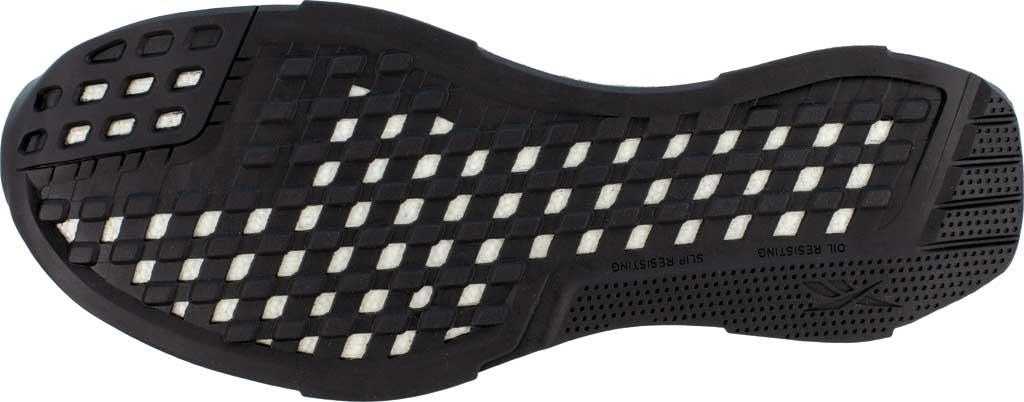 Men's Reebok Work RB4302 Fusion Formidable Work Composite Toe Shoe, Black/Grey Crazyhorse Leather, large, image 4
