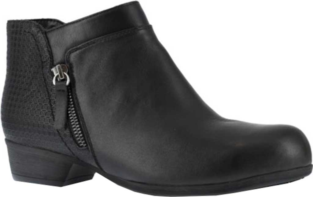 Women's Rockport Works RK751 Carly Alloy Toe Work Boot, Black Leather, large, image 1